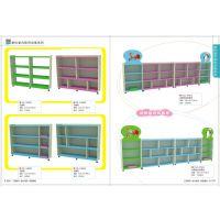 广西南宁实木角落收拾架幼儿园玩具柜整理架儿童储物收拾架