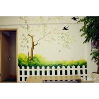 北京3D立体画、3D壁画、3D地画、手绘壁画