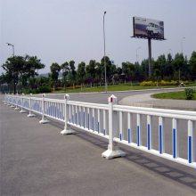交通隔离护栏 施工隔离栏 锌钢道路护栏