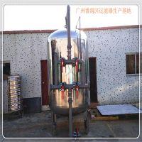 道滘镇销售电机工业φ1000×2500×3.0不锈钢过滤器过滤行业脏水广旗