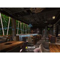 郑州烤鱼餐厅装修公司-郑州渔乐主题烤鱼餐厅装修设计效果图