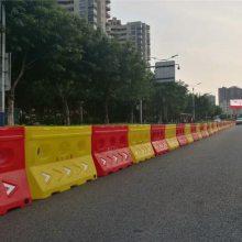 桥梁专用滚塑水马防撞桶器材批发直销厂家