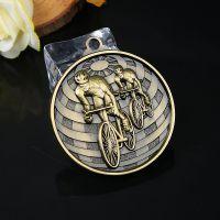 自行车奖牌定做比赛奖牌挂牌制作金属通用奖章定制 体育赛事奖章
