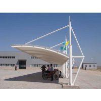 江桥镇膜结构车棚设计-膜结构车棚结构性及抗震性