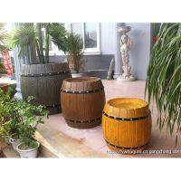 曲阜专业生产钢筋混凝土仿木/仿石系列,花桶、花箱、坐凳、凉亭、河堤护栏