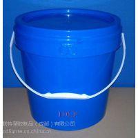 供应建筑涂料桶价格表、涂料桶印刷加工、木工胶塑料桶、西安建筑涂料桶