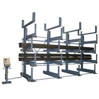 伸缩悬臂式货架可以决绝特殊存放的货物