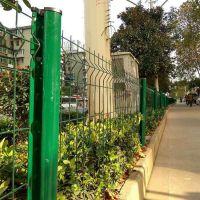 桃型柱小区围墙护栏 景观园林护栏网 框架铁丝网围栏厂家直销 大量现货
