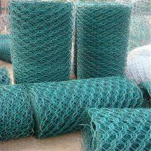 镀锌石笼网 河道防护网 六角装石铁丝网箱