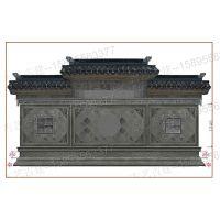 呼和浩特别墅徽派浮雕青砖建筑仿砖雕