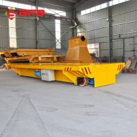 车间铝锭转运KPX-45吨转弯轨道平车 百分百厂家定制 质优价廉