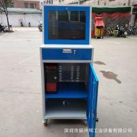 深圳pc电脑柜 车间移动电脑柜 工业电脑柜定做