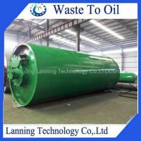 Hot sale newest design free pollution waste tyre pyrolysis plant
