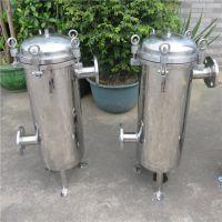 梅州厂家设计生产果汁厂除杂质过滤器 不锈钢袋式过滤器找晨兴定制