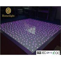 厂家直销 虹美 RGB七彩跳舞地板砖 LED星空地板砖 婚庆发光地板砖 亚克力星空跳舞地板砖