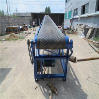 綦江县工业皮带运输机 多层尼龙带式运输机 圆管皮带输送机 浩发