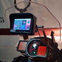 英文系统 摩托车防水GPS 导航仪 8G 256MB