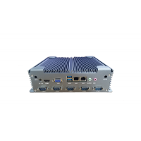 低功耗工控机无风扇嵌入式工控主机迷你工业电脑定制