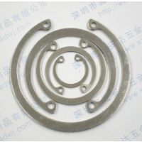 GB/T893不锈钢孔用挡圈 304孔用卡簧 C形内卡环
