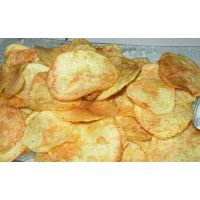全自动鲜切薯片生产线 土豆片油炸流水线 出口红薯片油炸机