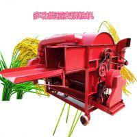 加工坊小麦脱粒机 全喂入打麦脱穗机型号 谷子打粒机参数
