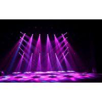 厂家直销 虹美 350w舞台婚庆摇头灯 LED图案灯光 光束灯 三合一炫酷舞台灯光