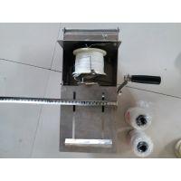 不锈钢电动香肠扎线机 腊肠连续式扎线机 猪肠加工成套设备