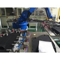 汽车底护板塑料扣机器人超声波焊接机,汽车底板护板机械臂超声波铆点焊接设备
