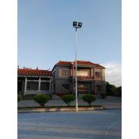 广州花都安装足球场灯柱 7人制篮球场灯杆 8米镀锌灯光厂家康腾体育