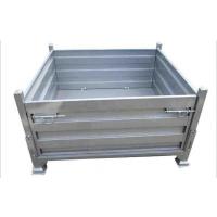 东莞帝腾金属板箱批发,金属网笼定做/折叠式钢制周转箱