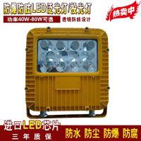 海洋王BLED9102防爆防眩免维护LED泛光灯40W-80W三防LED灯投光灯