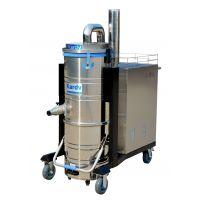 西安工业用380V大功率吸尘器 凯德威机床吸铁屑用吸尘器