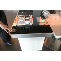 智能餐台餐盘标签 rfid电子芯片食堂快餐店饮品店餐具标签 智能结算