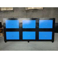 活性炭漆雾处理箱喷漆房废气处理箱设备水帘环保箱过滤吸附装置