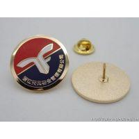 福州金属徽章定做北京学校胸章设计专业铜质徽章制作厂家