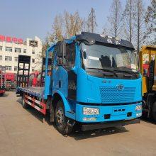 可拉卡特150挖机拖车解放单桥挖掘机拖车厂家电话1.6L排量