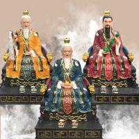 河南豫莲花佛像厂定制批发三清祖师神像佛像、元始天尊、灵宝、道德天尊、玉清上清太清、太上老君老子