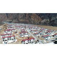 西藏地区扶贫建设大力推广采用树脂瓦