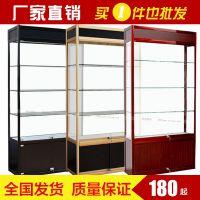 广西君诚精品展示柜 可加工定制化妆品、公司样品展示柜