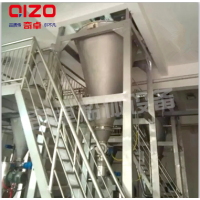 碳微球化工三元材质设备奇卓双螺旋锥形混合机高效率低能耗专业
