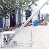 不锈钢螺旋提升机批发固定型 供应螺旋提升机厂定州