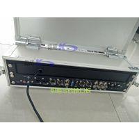 肯威新款sony切换台翻盖铝合金箱航空箱导播台防护箱带17寸监视器