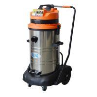 福建依晨工业吸尘器YZ-8030S|耐酸碱耐腐蚀吸砂石粉末用吸尘机