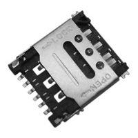 东莞 SOFNG SIM-1305 尺寸:14.10mm11.20mm*1.40mm SIM卡连接器