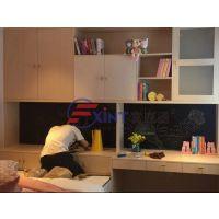 中山黑板墙家用实木Y澄海挂式单面磁性黑板X电子黑板教学多功能