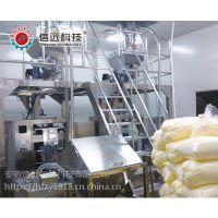 兽药粉剂自动上料、计量、包装生产线设备、兽药粉剂自动缝包机