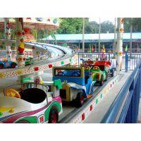 2018厂家热销儿童过山车迷你穿梭大型亲子类游乐设备 场公园游乐园创业好项目LZY-MNCS-6