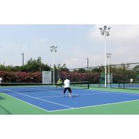 专业竞赛硅PU球场 跟木地板一样的专业运动球场【广西三杰体育】