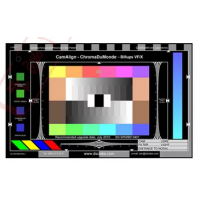 3nh DSC色彩抗锯齿测试卡 测量视场角