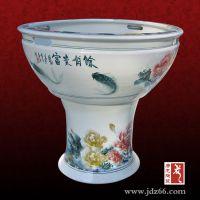 定做陶瓷鱼缸厂家 陶瓷风水大缸